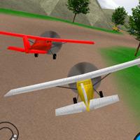 Plane Race mobile app