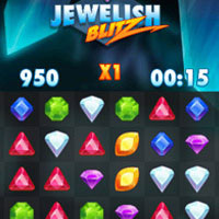 Jewelish Blitz mobile game