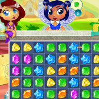 Magic Jewels match 3 puzzle game