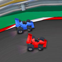 Racing cars online mobile game
